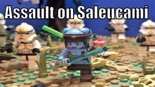 Lego Star Wars Assault on Saleucami