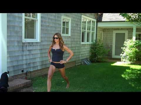 Kelly Killoren Bensimon's get fit fast routine.