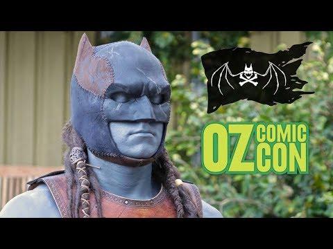 Pirate Batman 2.0 Update: Gnarly Deadlocks & Oz Comic Con Sydney!