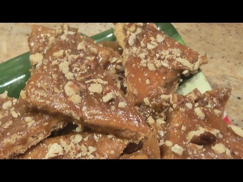 Holiday Praline Bars - Fast & Easy