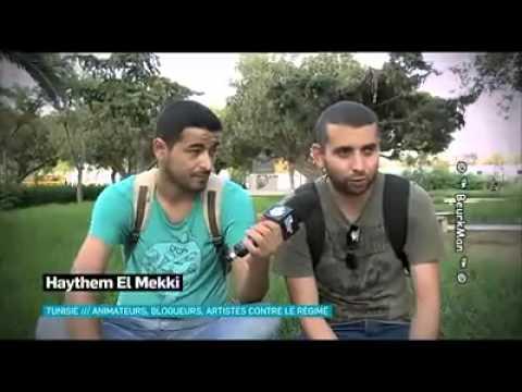 Canal+: En Tunisie, les Animateurs, Blogueurs et Artistes contre le Régime