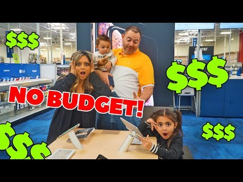 NO BUDGET AT BEST BUY!!! **EVERY KIDS DREAM**