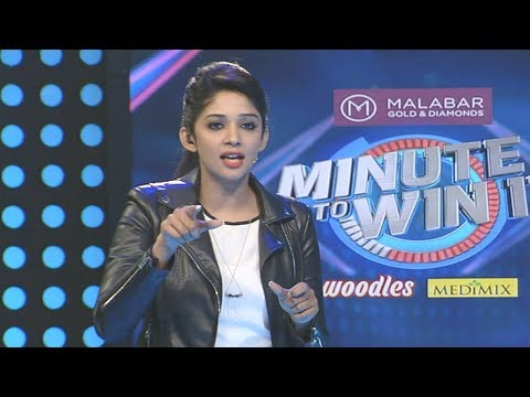 Minute To Win It I Ep 06 - First pair task of Minute to win it I Mazhavil Manorama
