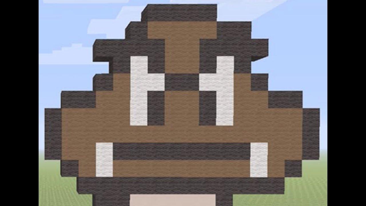 Minecraftsuper Mario Bros 3goomba Pixel Art Tutorial