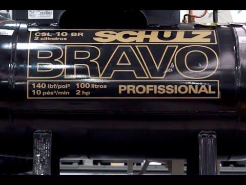 Schulz - Compressor de Ar de Baixa Pressão CSL 10BR/100 - BRAVO