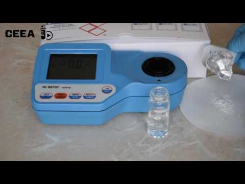 SPECTROPHOTOMETRIC DETERMINATION OF NITRITES IN WATER