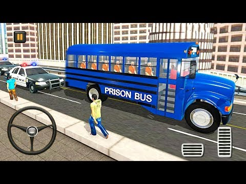 Prisoner Transport Bus Simulator 3D - Police Bus Driver - Android Gameplay FHD
