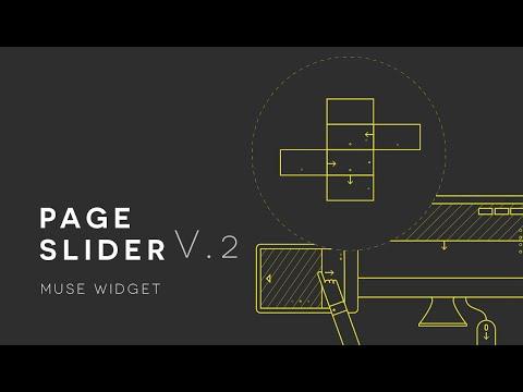 Page Slider Muse Widget V.2