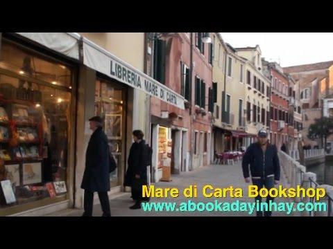 Mare di Carta Bookshop, Venice-NAVIGAR IN LAGUNA