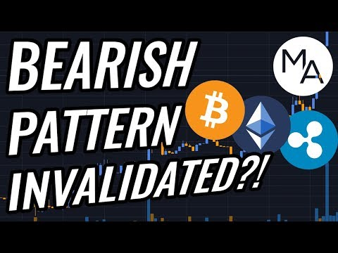 Bearish Pattern INVALIDATED!? Bitcoin & Crypto Markets Blast Up! BTC, ETH, XRP, Crypto & Stocks News