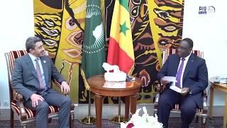 رئيس السنغال يستقبل عبدالله بن زايد