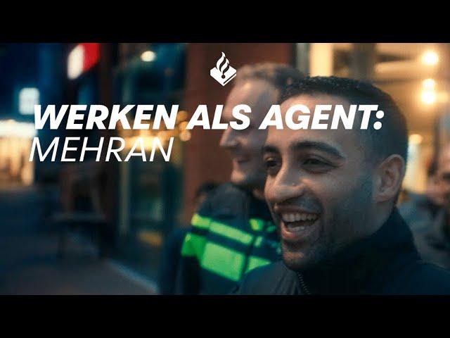 Werken bij de politie: agent Mehran