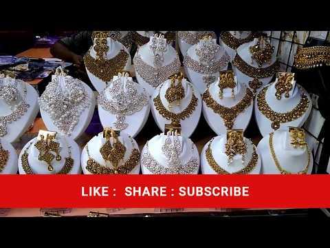 Wholesale jewellery market  - sadar bazaar in  cheapest prize