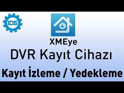 DVR Kayıt Cihazı - Kayıt İzleme ve Yedekleme - XMEYE