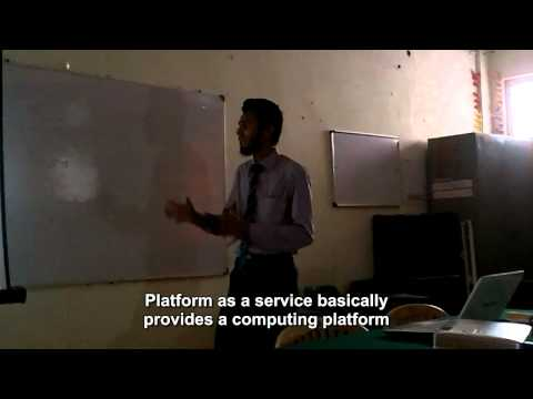 Engineering Seminar Presentation That Will Blow Your Mind!! ~TELECOM CLOUD by Syed Omais Shameem