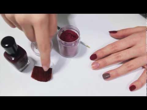 Manicura de peluche -- Nail Art