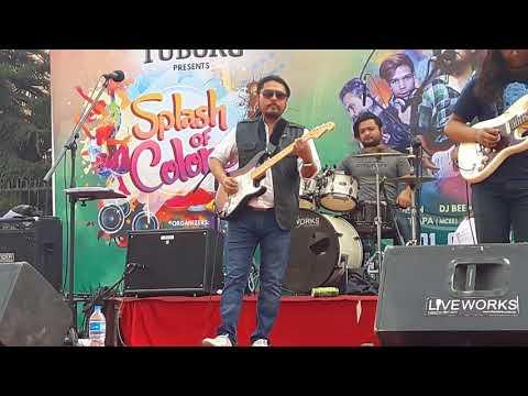 Adrian Pradhan - Nasamjha bhulidinay lai (live concert)😍