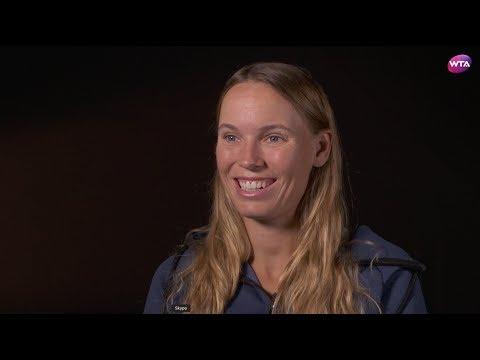 Caroline Wozniacki | 2018 China Open Pre-Tournament Interview 中国网球公开赛