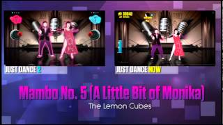 Just Dance Now Mambo No. 5 (A Little Bit of Monika) Comparison
