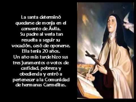Santa Teresa De ávila Youtube