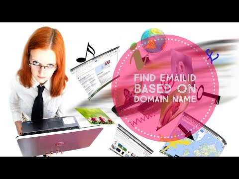 How To Find Email Address Based On Domain Name For Free