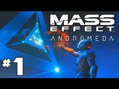 Mass Effect Andromeda - Part 1 - The Andromeda Initiative!- First 2.5 hours of Mass Effect Andromeda
