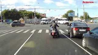 Как погибают мотоциклисты