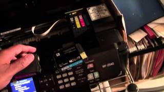 How to Change the Ink on the Epson WF 2540   H2TechVideos