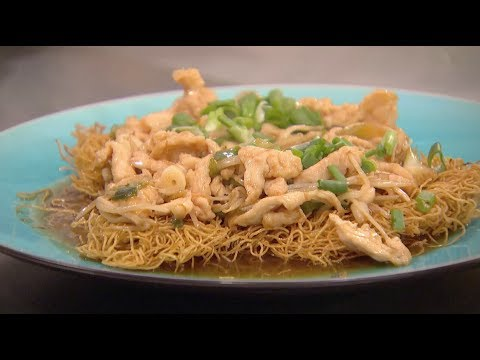 Classic Chicken Chow Mein (Part 2) - Ken Hom & Ching He ...