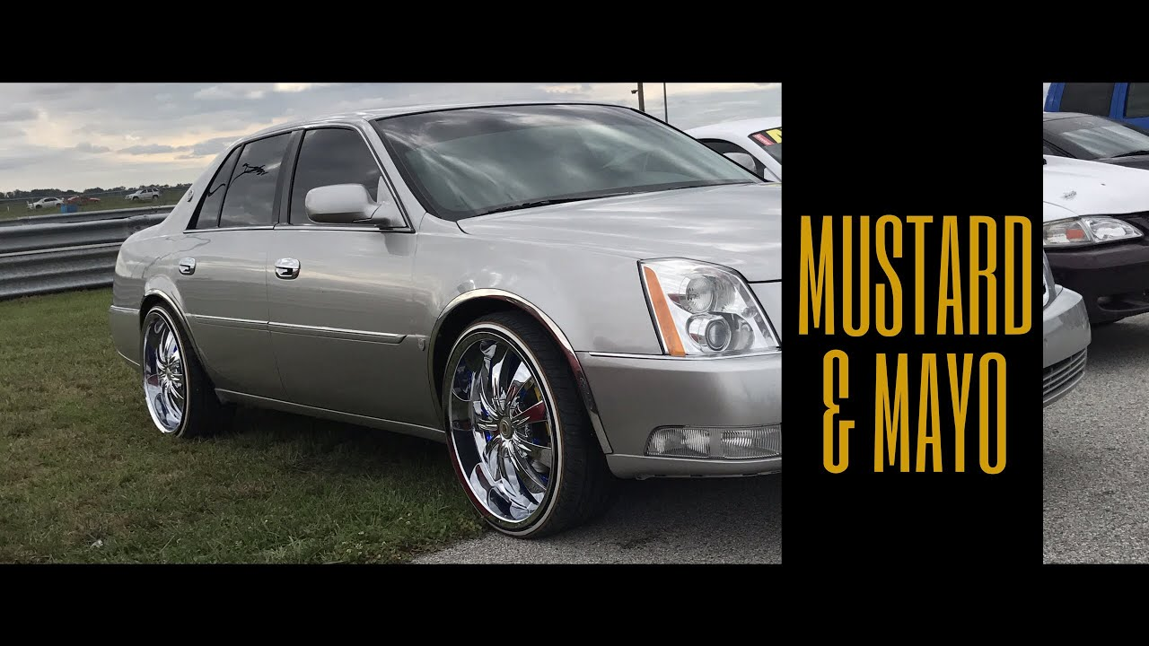 """22 Inch Tires >> Cadillac DTS on 22"""" rims and Vogues - YouTube"""