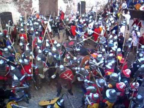 Vyborg castle medieval festival