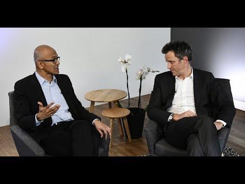 Arthur Sadoun & Satya Nadella Announce Partnership For Marcel AI Platform