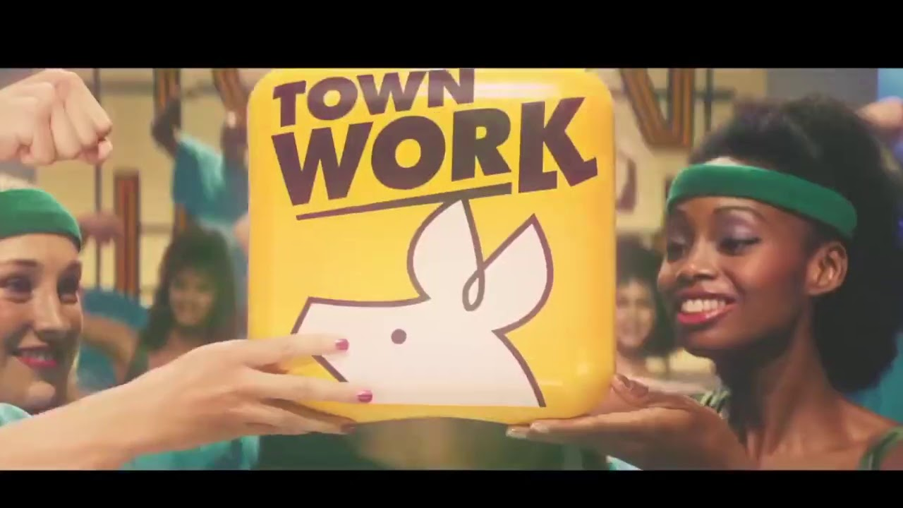 Black Girl Promotion in Japan タウンワーク Town Work CM #3
