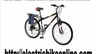 2008 EZIP Trailz Men's Electric Comfort Bike