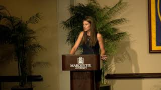 2018 Marquette M Club Hall of Fame Speech - Natalie Kulla