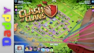 Clash Of Clans  | Lvl 7 Cats Cradle With Sidekicks's Sister  | Clash Of Clans Hands Videos