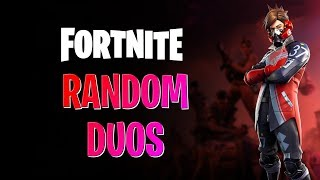 Random Duos / Squads || Fortnite : India || Use Code - JRG || ! Member
