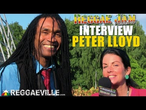 Interview with Peter Lloyd @ Reggae Jam 8/3/2013