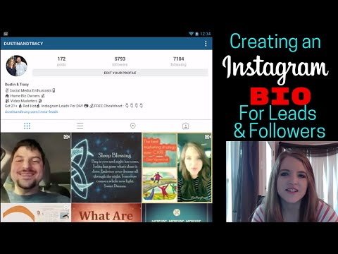 Creating an Instagram Bio that Attracts Leads and Followers