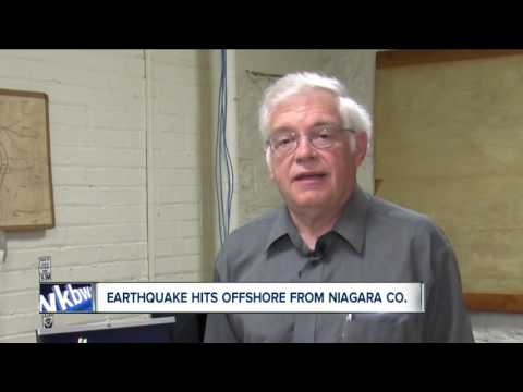 Earthquake hits offshore from Niagara County