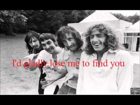 The Who -  Bargain (With Lyrics)