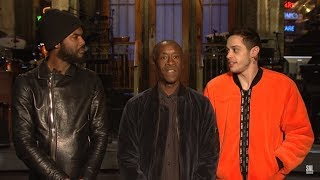 Don Cheadle Hosts SNL (This Just Premiered On NBC)