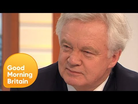 David Davis Defends Tory Deal With the DUP Amid Homophobia Accusations | Good Morning Britain