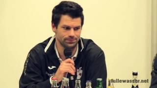 Pressekonferenz KSV Hessen - KSV Baunatal 21.03.14 (1:1)