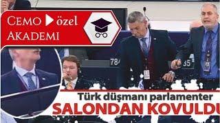 AP Başkanı Schulz, Yunan Milletvekilini Salondan Atıyor (Türkçe altyazılı)
