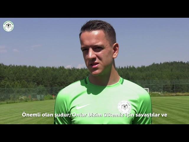 Oyuncumuz Amir Hadziahmetovic Srebrenitsa Katliamı'nın yıldönümünde duygularını aktardı