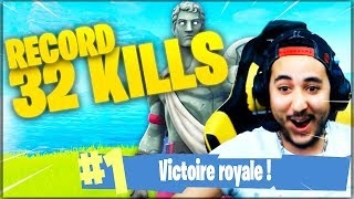MON RECORD SUR FORTNITE (32 KILLS) !!!