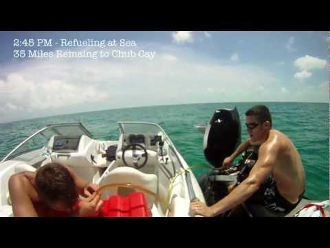 Miami To Exuma Bahamas on Sea-Doos Part I