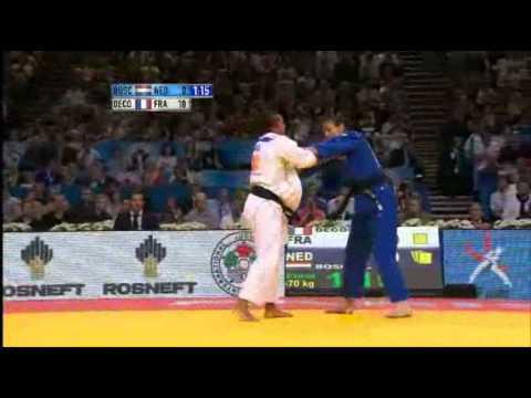 JUDO 2011 World Championships: Lucie Decosse (FRA) - Edith Bosch (NED)