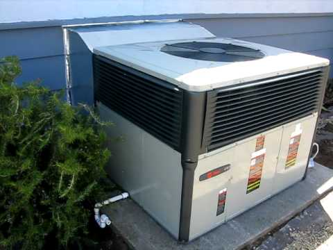 Trane 14 Seer 12 Eer Gas Electric 3 Ton Unit Youtube